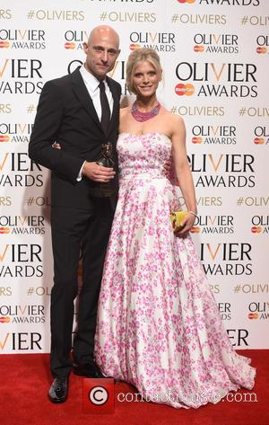 Emilia Fox and Mark Strong
