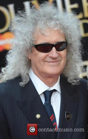 Brian May Debates With Russell Brand At Film Screening