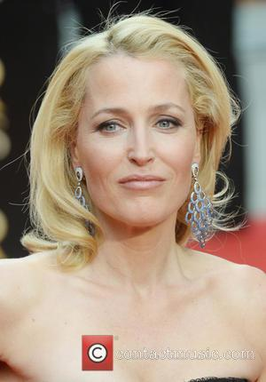 Gillian Anderson - 2015 Olivier Awards held at the Royal Opera House - Arrivals - London, United Kingdom - Sunday...