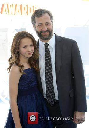 Judd Apatow and Iris Apatow - A variety of stars were photographed as they arrived for the 2015 MTV Movie...