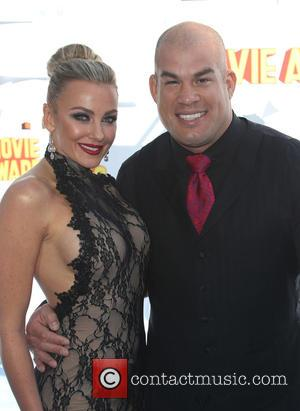 Tito Ortiz and Amber Nichole - A variety of stars were photographed as they arrived for the 2015 MTV Movie...