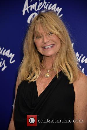 Goldie Hawn - Opening night for 'An American in Paris' at the Palace Theatre - Arrivals. at The Palace Theatre,...