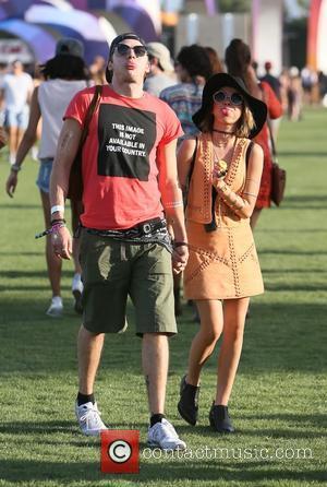 Sarah Hyland and Domonic Sherwood - Coachella 2015 - Week 1 - Day 3 at Coachella - Indio, California, United...