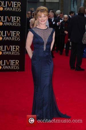 Samantha Bond - The Olivier Awards held at the Royal Opera House - Arrivals at Royal Opera House Covent Garden...