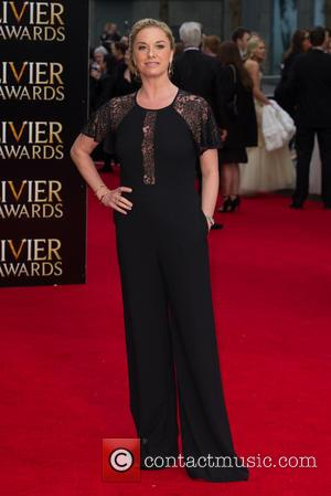 Tamzin Outhwaite - The Olivier Awards held at the Royal Opera House - Arrivals at Royal Opera House Covent Garden...