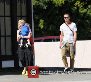 Gwen Stefani, Gavin Rossdale and Apollo Rossdale