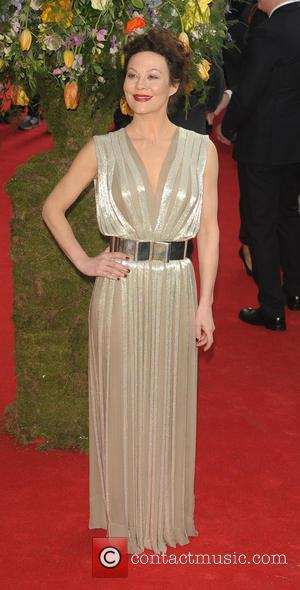 Helen McCrory - A variety of celebrities were photographed as they attended the UK premiere of 'A Little Chaos' which...