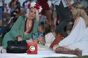 Sarah Hyland - Shots from the third day of the festival Coachella 2015 which has been attended by a variety...