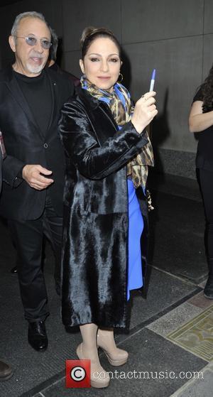 Gloria Estefan - Gloria Estefan leaving the Today show - Manhattan, New York, United States - Monday 13th April 2015