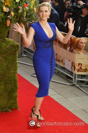 Kate Winslet - Celebrities attends the U.K Premiere of