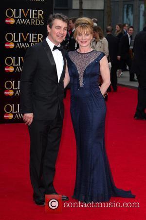 Alexander Hanson and Samantha Bond
