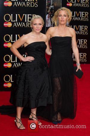 Gillian Anderson and Piper Maru Klotz