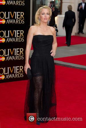 Gillian Anderson - A host of celebrities were photographed as they arrived to the 2015 Olivier Awards which were held...