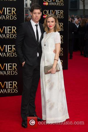 Katherine Kelly and Ryan Clark - A host of celebrities were photographed as they arrived to the 2015 Olivier Awards...