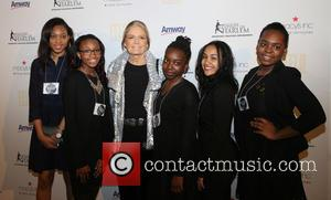 Gloria Steinem - The 10th Annual Skating with the Stars Gala - Arrivals - New York City, United States -...