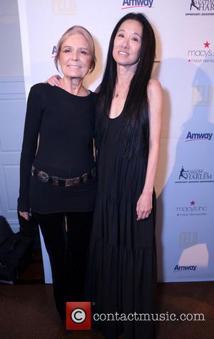 Gloria Steinem and Vera Wang