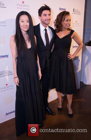Vera Wang, Evan Lysacek and Tamara Tunie