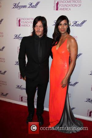 Norman Reedus and Padma Lakshmi - Photographs of a host of stars as they took to the red carpet at...