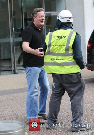 Piers Morgan - Piers Morgan outside ITV Studios - London, United Kingdom - Monday 13th April 2015