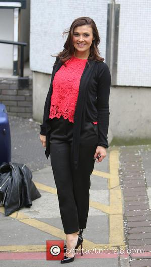 Kym Marsh - Kym Marsh outside ITV Studios today - London, United Kingdom - Monday 13th April 2015