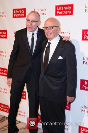 Tom Brokaw and Rupert Murdoch