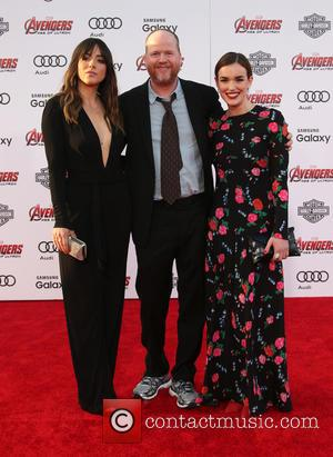 Chloe Bennet, Joss Whedon and Elizabeth Henstridge