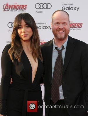 Chloe Bennet and Joss Whedon