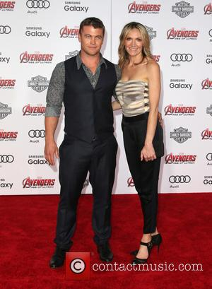 Luke Hemsworth and Samantha Hemsworth - Shots of a host of stars as they attended the premiere of Marvel's