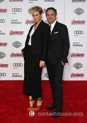 Mark Ruffalo and Sunrise Coigney - Shots of a host of stars as they attended the premiere of Marvel's