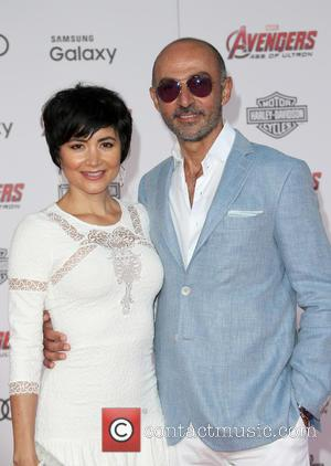 Shaun Toub and Lorena Mendoza - Shots of a host of stars as they attended the premiere of Marvel's