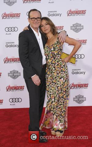 Jennifer Grey and Clark Gregg - Shots of a host of stars as they attended the premiere of Marvel's