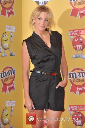 Sarah Harding - M&M characters election launch party held at M&M Leicester Square. - London, United Kingdom - Tuesday 14th...