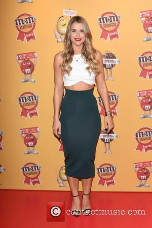 Vogue Williams - M&M characters election launch party held at M&M Leicester Square. - London, United Kingdom - Tuesday 14th...