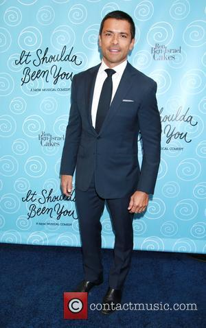 Mark Consuelos - Photographs of a variety of stars as they arrived to the Opening night of Broadway's musical comedy...