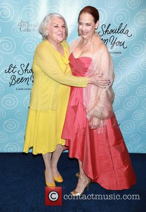 Tyne Daly and Harriet Harris