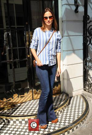 Lucy Watson - Lucy Watson arrives for the South Beach Press Day to launch a new clothing range - London,...