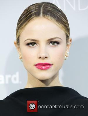 Halston Sage - Los Angeles premiere of The Orchard's 'Dior and I' - Arrivals at LACMA - Los Angeles, California,...