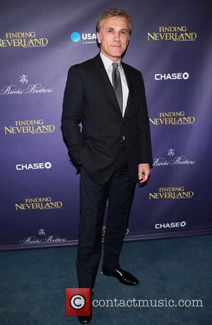 Christoph Waltz - Shots of a variety of stars as they attended the Opening Night of Broadway's 'Finding Neverland' which...