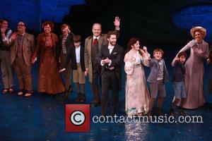 Carolee Carmello, Kelsey Grammer, Matthew Morrison, Laura Michelle Kelly and Teal Wicks