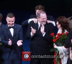 Gary Barlow, Matthew Morrison, Harvey Weinstein and Laura Michelle Kelly
