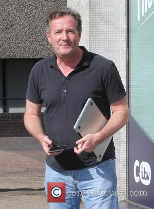 Piers Morgan - Piers Morgan outside the ITV Studios - London, United Kingdom - Wednesday 15th April 2015