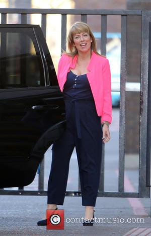 Fay Ripley - Fay Ripley outside the ITV Studios - London, United Kingdom - Wednesday 15th April 2015