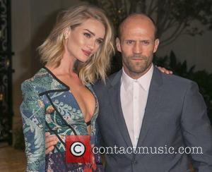 Rosie Huntington-Whiteley, Jason Statham, Rosie Huntington-Whiteley , Jason Statham - Celebrities attend the Burberry 'London in Los Angeles' event at...
