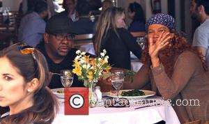 Bobby Brown and Alicia Etheredge