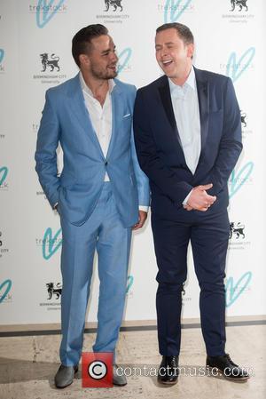 Liam Payne and Scott Mills