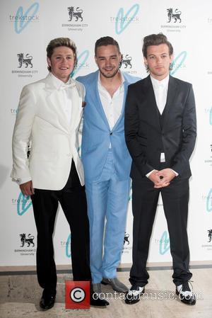 Niall Horan, Louis Tomlinson and Liam Payne