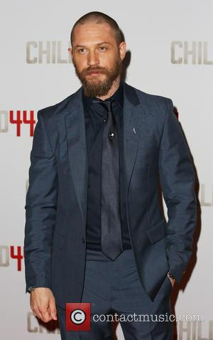Tom Hardy - Shots of a host of stars as they attended the  movie premiere for 'Child 44' which...