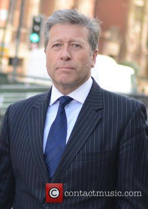 Neil Fox and Vicky Fox - DJ Neil Fox arrives at Westminster Magistrates' Court on multiple sex assault charges. -...