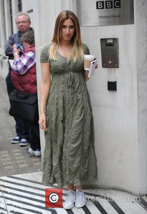 Stacey Solomon - Stacey Solomon seen out in London at BBC Radio Two Studios. - London, United Kingdom - Thursday...