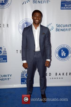 Chadwick Boseman - Los Angeles Dodgers Foundation Inaugural Blue Diamond Gala with special performance by Aloe Blacc at Dodger Stadium...